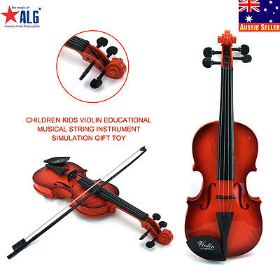 Children Kids Violin Educational Musical String Instrument Simulation gift TOY