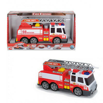 Dickie Toys 37cm Fire Engine Truck with Lights & Sounds Kids Boys Toy Gift