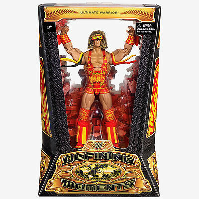 Official WWE Mattel Defining Moments Ultimate Warrior Maniacs 2016 Figure