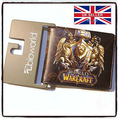 NEW World of Warcraft Movie Alliance Wallet Brand New Cosplay *UKStock
