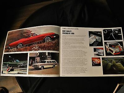 1966 Ford Sales Brochure  LTD Country Squire Fairlane Mustang Falcon
