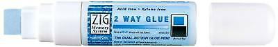 Zig 2 Way Memory Glue Pen 15mm Chisel Tip Acid and Xylene Free MSB-30M