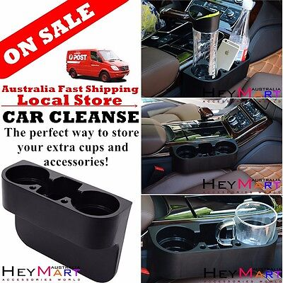 Car Cup Holder Can holder Valet Travel Coffee Bottle Holder Table Food Stand x 1