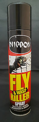 300Ml Nippon Fast Acting Indoor Fly Mosquito Midges And Wasp Killer Spray