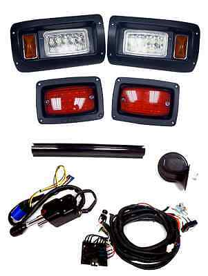 CLUB CAR GOLF Cart DS Deluxe with turn signals LED Light Kit (CC1020 Golf Cart Light Kit With Turn Signals on golf course cart signs, golf cart wiring for lights, golf cart brake light switch, 4 wheeler light kits, golf cart horns, 2009 yamaha golf carts light kits, harley turn signal kits, polaris ranger light kits, golf carts with signal lights,