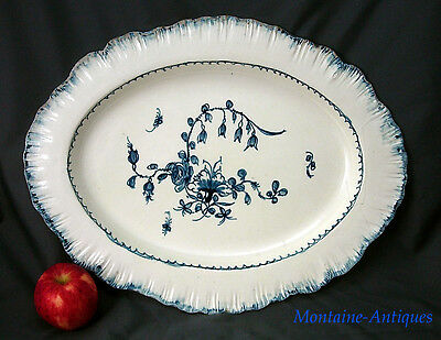 Huge Antique Leed Pearlware Platter c. 1785