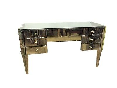 An Art Deco Style Mirrored Vanity 101-P.P