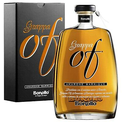 Grappa Of Bonollo Amarone 70Cl Barrique Barricata
