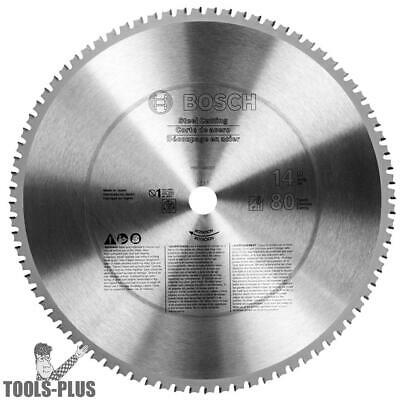 Bosch Tools 14 inch x 80T Ferrous Metal Cutting Circular Saw Blade PRO1480ST New