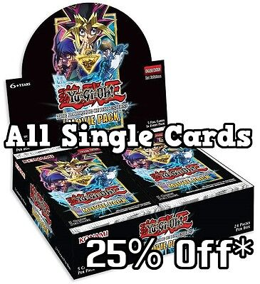YuGiOh *SINGLES* - Dark Side of Dimensions Movie Pack *MVP1* Ultra Rare Cards