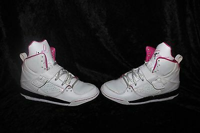 official photos a4a65 2f7f1 NIKE Girls Air Jordan Flight 45 High Basketball Shoes Size 6Y
