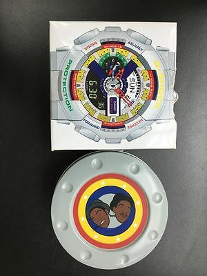 "G-SHOCK  Watch Box ""Dee and Ricky"" LIMITED EDITION Box and Watch Case NO WATCH"