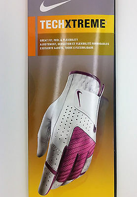 Nike Tech Xtreme Women's Right Golf Glove (Small) -- New