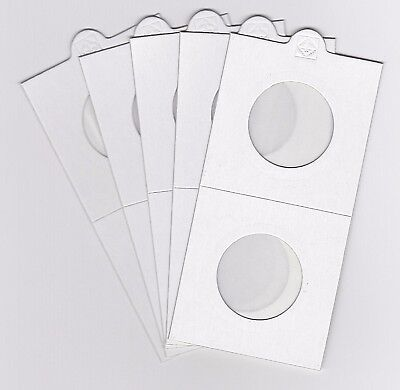"""LIGHTHOUSE 27.5mm SELF ADHESIVE 2""""x 2"""" COIN HOLDERS x 5 - SUIT HALFPENNY"""