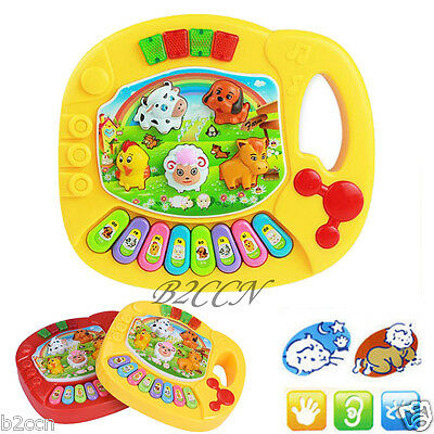 Cute Baby Music Musical Developmental Animal Farm Piano Educational Music Toy