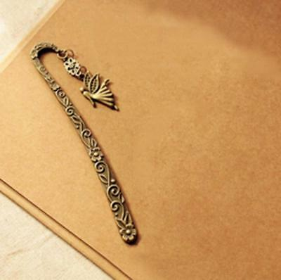 Creative Retro Vintage Metal Alloy Bookmark Document Book Label DIY Gift Hotsell