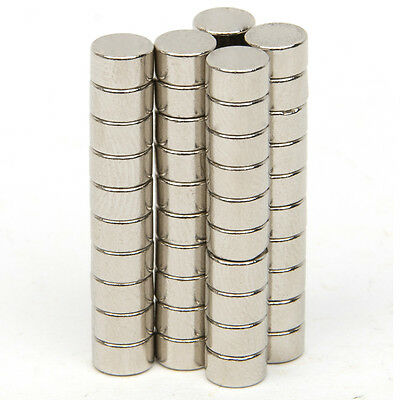Strong Magnets Earth Disc Cylinder N52 Neodymium Rare Earth 5 x 3mm / 10x3mm
