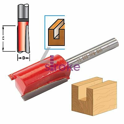 "1/4"" Shank Straight Imperial Cutter TCT Router Bits 3/4"" Diameter x 1"" Long DIY"
