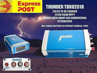 Thunder 20A DC to DC Battery Charger Smart Alternator Solar Charging BCDC D250S