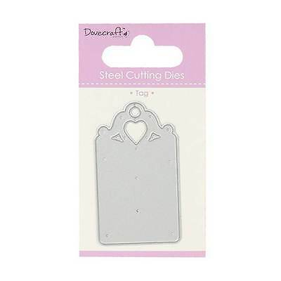 Dovecraft Steel Cutting Die – Tag Heart New