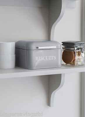 Garden Trading Contemporary Biscuit Tin In Pebble