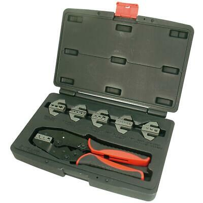 Astro Pneumatic 9477 7 Pc. Professional Quick Change Ratcheting Crimping Set