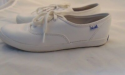 white leather keds size 6