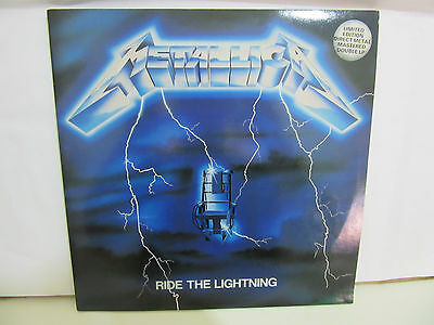 Metallica - Ride The Lightning - LIMITED - 2 x LP - 1987 - UK - 45 RPM - EX+/NM+