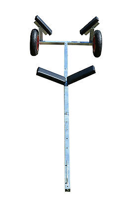 Hot Dipped Galvanized Boat Dolly Trailer Launching Wheels for small boat