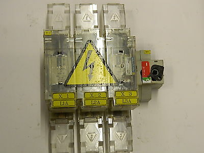 Socomec 3841 3039 Switch Disconnector 400A  Fuse SIZE 2