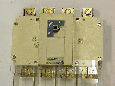 Socomec SIRCO 400A Switch Disconnector 400A  Isolater 4Pole LK31 BN3