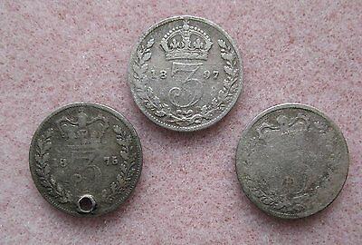 Great Britian 3 Silver Threepences