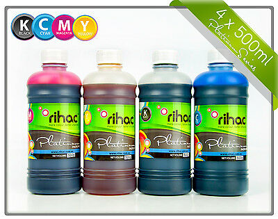 Rihac 500ml inks for Brother LC133 printers, CISS refill inks LC-133 131 135