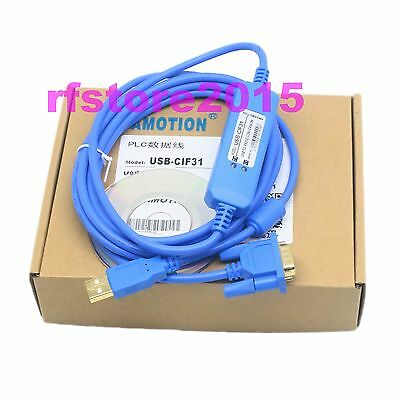 USB-CIF31 PLC Cable USB to RS232 adapter for omron PLC CS1W WIN7 VISTA XP