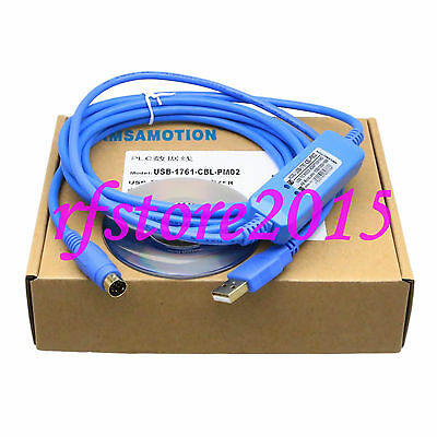 USB-1761-CBL-PM02 PLC Cable USB to RS232 adapter for AB MicroLonix PLC win7
