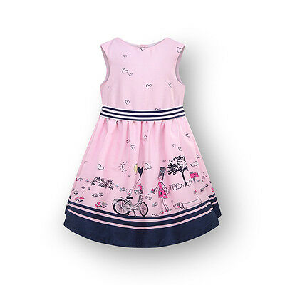 Baby Girl Toddler Pink Party Casual Birthday Occasion Summer Dress