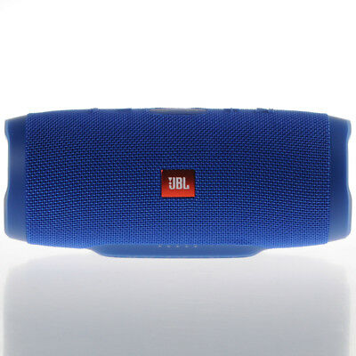 Neuf Jbl Charge 3 Charge3 Portable Bluetooth Speaker Blue Bleu Waterproof