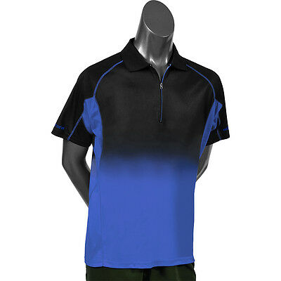Unicorn Pro Dart Shirt - Low Profile Branding - Gradient Black/Blue - Small-4XL