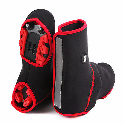 2016 Cycling Sport Shoe Covers Winter Bicycle Bike Overshoes Thermal Waterproof