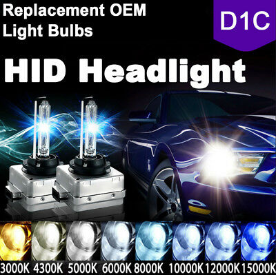 D1R HID Xenon Headlight Replacement for Philips or OSRAM Bulbs 2x New D1S