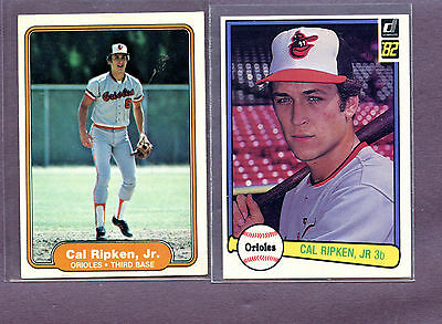 1982 Toppsfleerdonruss Cal Ripken Rookie Card Lot 3400