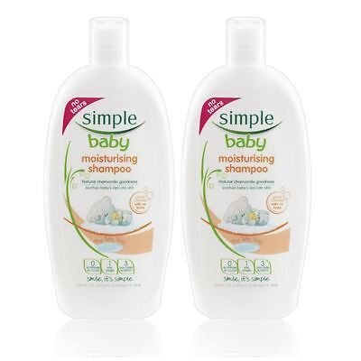 Simple Baby Moisturising Shampoo 300 ml - 2 Pack