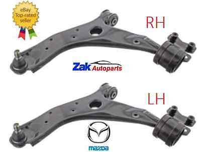 Mazda 5 05-13 Front 2 Lower Wishbone Suspension Track Control Arms Pair NEW