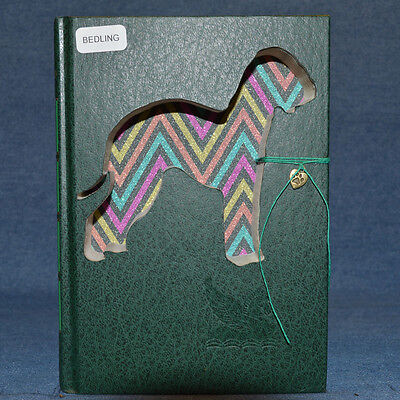 Bedlington Terrier Upcycled Book - 001