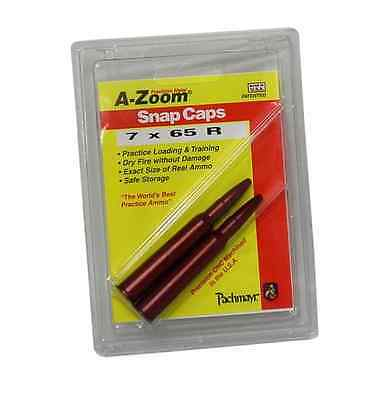 A-Zoom Precision Metal Snap Caps  *  7 x 65 R   *  # 12244  Package of 2  new!