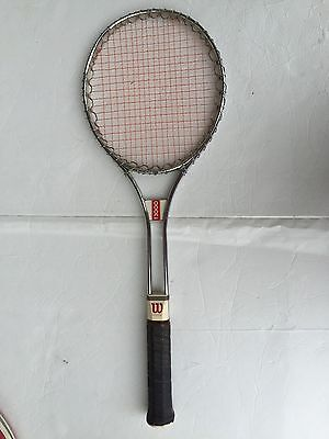 Vintage 1970 Wilson T3000 Tennis Racket Leather Cover-FREE SHIPPING!