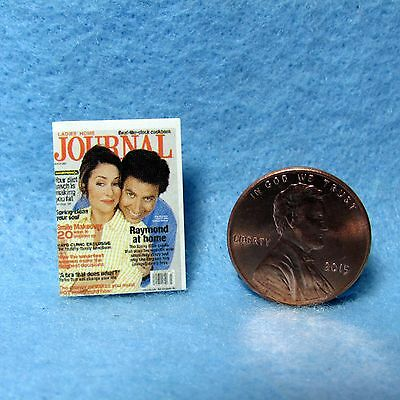 Dollhouse Miniature Replica of Ladies Home Journal Magazine ~ Cover Only