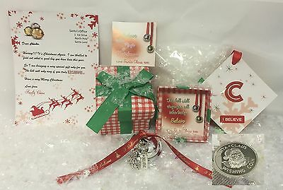 Large 40mm Personalised I Believe Jingle Bell - Free Polar Express Ticket