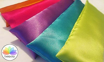 DELUXE Satin silky eye pillow with lavender - relaxation, meditation, yoga