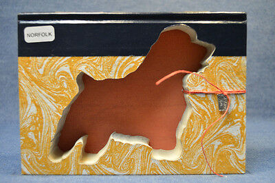 Norfolk Terrier Upcycled Book - 002